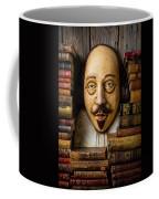 Shakespeare With Old Books Coffee Mug