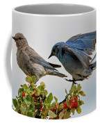 Sharing A Perch Coffee Mug