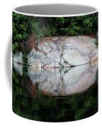 Shawanaga Rock And Reflections Iv Coffee Mug