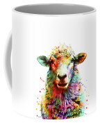 Sheep Portrait Coffee Mug
