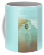 Shell Reflections In The Sand In The Soft Dawn Coffee Mug
