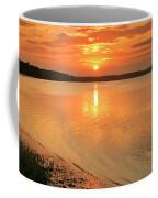 Shoreline Sunset Coffee Mug
