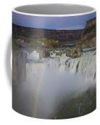 Shoshone Falls Rainbow Coffee Mug