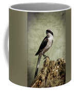 Shrike Of The Serengeti Coffee Mug by Mary Lee Dereske