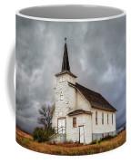 Shuttered Church In Cartwright North Dakota Coffee Mug