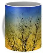 Silhouette Birds Sequel Coffee Mug