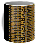Silver And Gold Ezekiel Coffee Mug