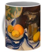 Silver Pitcher  Coffee Mug