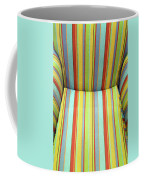 Sitting On Stripes Coffee Mug