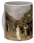 Sixth Avenue And Thirtieth Street, New York City, 1907 Coffee Mug