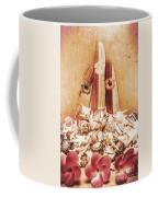 Sixties Surfboarding Coffee Mug