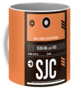 Sjc San Jose Luggage Tag II Coffee Mug