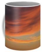Skies Of Orange Coffee Mug