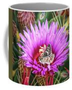 Skipper On Cactus Bloom Coffee Mug
