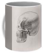 Skull Study Profile Coffee Mug