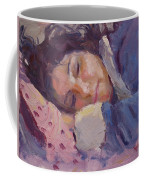 Sleeping Lady Coffee Mug