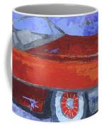 Slick Red Cadillac Coffee Mug by David King
