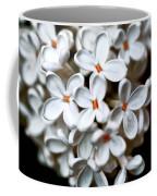 Small White Flowers Digital Coffee Mug
