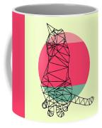 Smart Cat And Sunset Coffee Mug