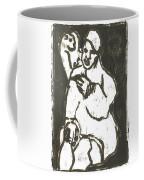 Smoker In Green Coffee Mug