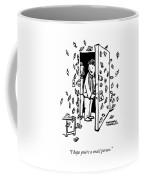 Snail Person Coffee Mug
