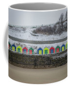 Snow At Barry Island Coffee Mug