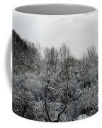 Snow Covered Trees Coffee Mug by Rose Santuci-Sofranko