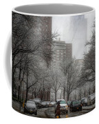 Snow In The City Coffee Mug by Alison Frank