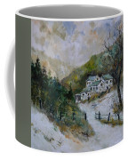 Snowy Natural Landscape Coffee Mug