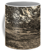 Solitude In Black And White With Sepia Tones Coffee Mug