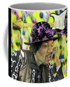 Sonic Exploration - A Jimi Hendrix Portrait Coffee Mug