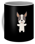 Sorry I Cant I Have Plans With My Boston Terrier Funny Dog Design Coffee Mug