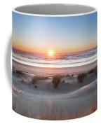 South Jetty Beach Sunset, No. 4 Coffee Mug by Belinda Greb