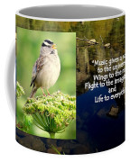 Sparrows Music Coffee Mug