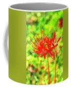 Spider Lily Cezanne Coffee Mug