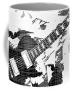 Splatter Guitar Coffee Mug
