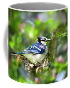 Spring Blue Jay Coffee Mug