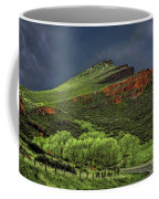 Spring Storm At Milepost 84 Coffee Mug