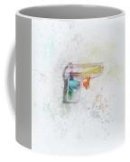 Squirt Gun Painted Coffee Mug