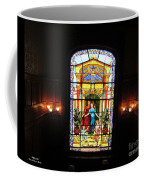Stained Glass At Moody Mansion Coffee Mug