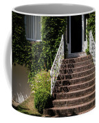 Stairs Leading To The Entrance Of A House Coffee Mug