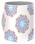 Starburst Pattern Coffee Mug