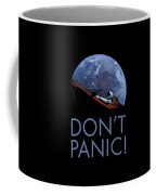 Starman Don't Panic In Orbit Coffee Mug