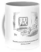 State Of The Union Drinking Game Coffee Mug