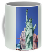 Statue Of Liberty Replica In Las Vegas Coffee Mug