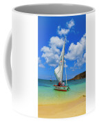 Stay Up 2 Sailing In Anguilla Coffee Mug by Ola Allen