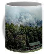 Steaming White Mountains Coffee Mug