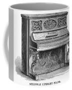 Steinway Piano, 1878 Coffee Mug