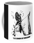 Steven Tyler Microphone Aerosmith Black And White Watercolor 04 Coffee Mug