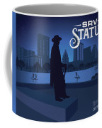 Stevie Ray Vaughan Memorial Statue  Coffee Mug